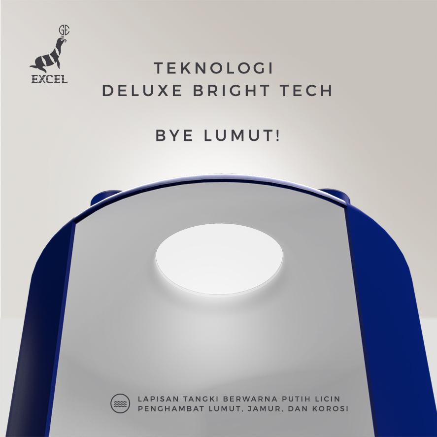 Teknologi Deluxe Bright Tech