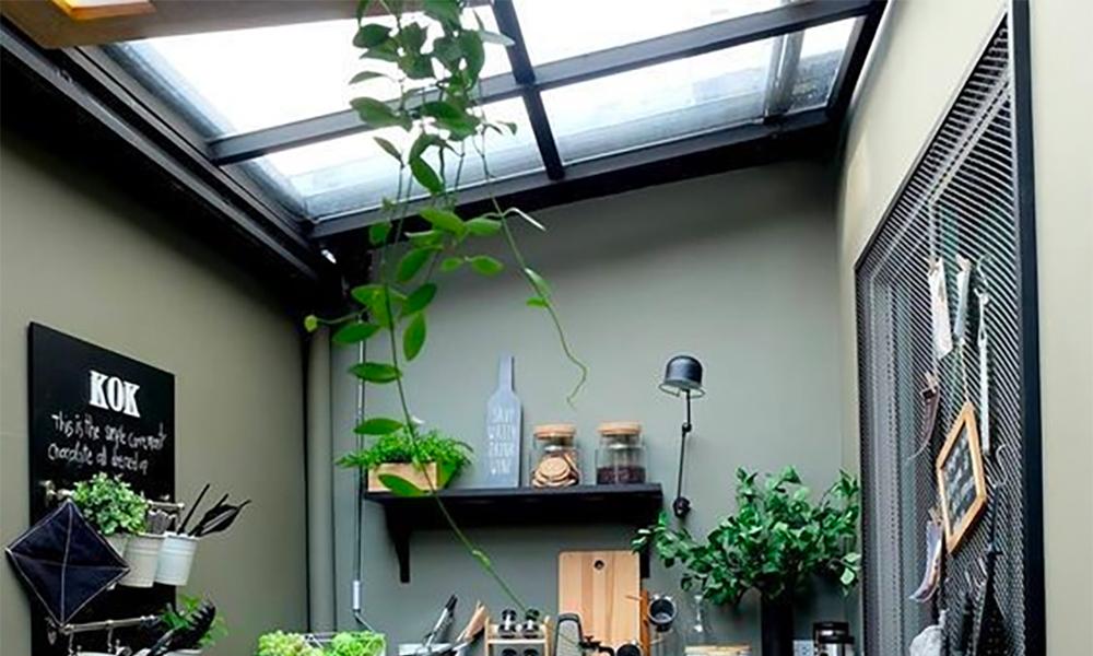 Inovasi Laundry Room Semi Outdoor Dengan Atap Bening EXCELROOF