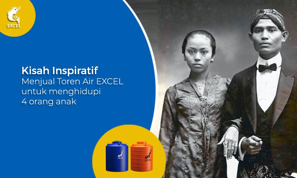 Kisah Inspiratif Single Parent Bu Musdalifah beralih dari Karyawan Kantoran ke Penjual toren air EXCEL menghidupi 4 Orang Anak.
